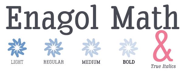 Enagol Math -8 Styles-