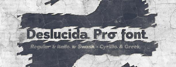 Deslucida Pro -2x1 Fonts-