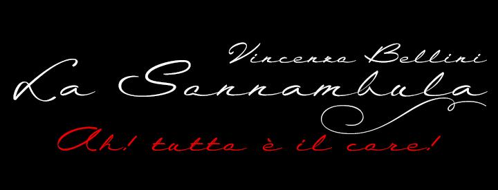 La Sonnambula font