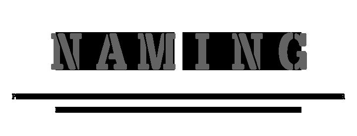 Naming, las cosas por su nombre