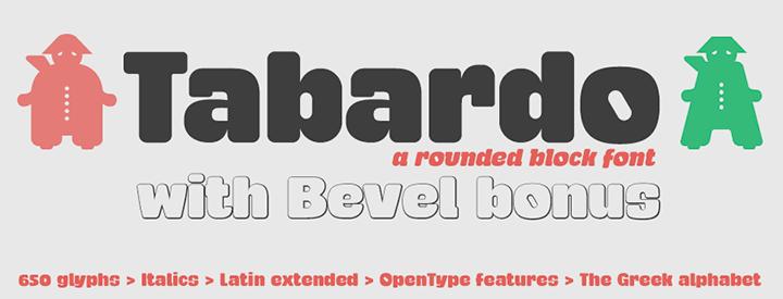 Tabardo Block Font